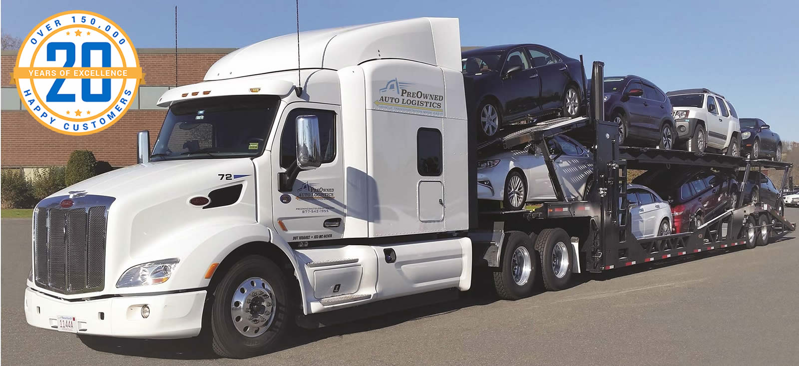 Preowned Auto Logistics Auto Transport Truck